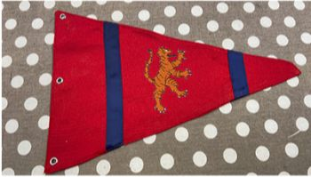 Embroidered Fenland Flag